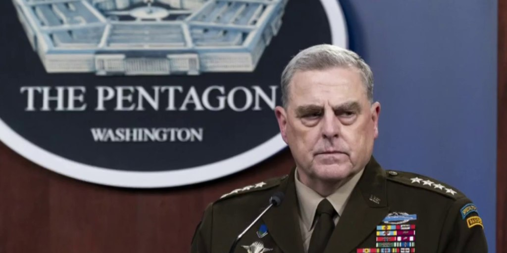 New book details Gen. Milley as the last guardrail in Trump's final days