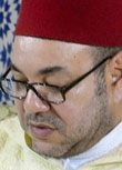 Image: Morocco's King Mohammed VI presides a a