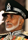 Image: Oman's leader Sultan Qaboos bin Said sal