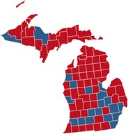 Michigan Election Results  President Congress Governor