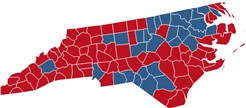 North Carolina Election Results  President Congress