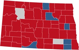 North Dakota Election Results  President Congress