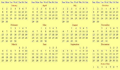 Is It Time To Overhaul The Calendar Here S The Plan Technology