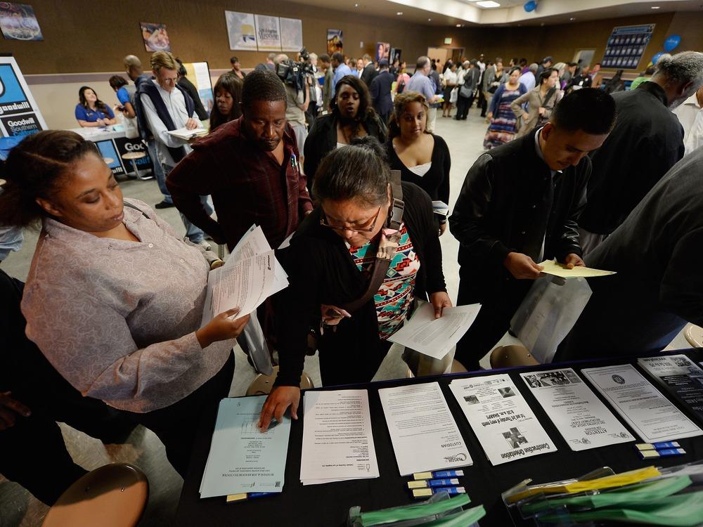 Image: Los Angeles Mission Holds Job Fair