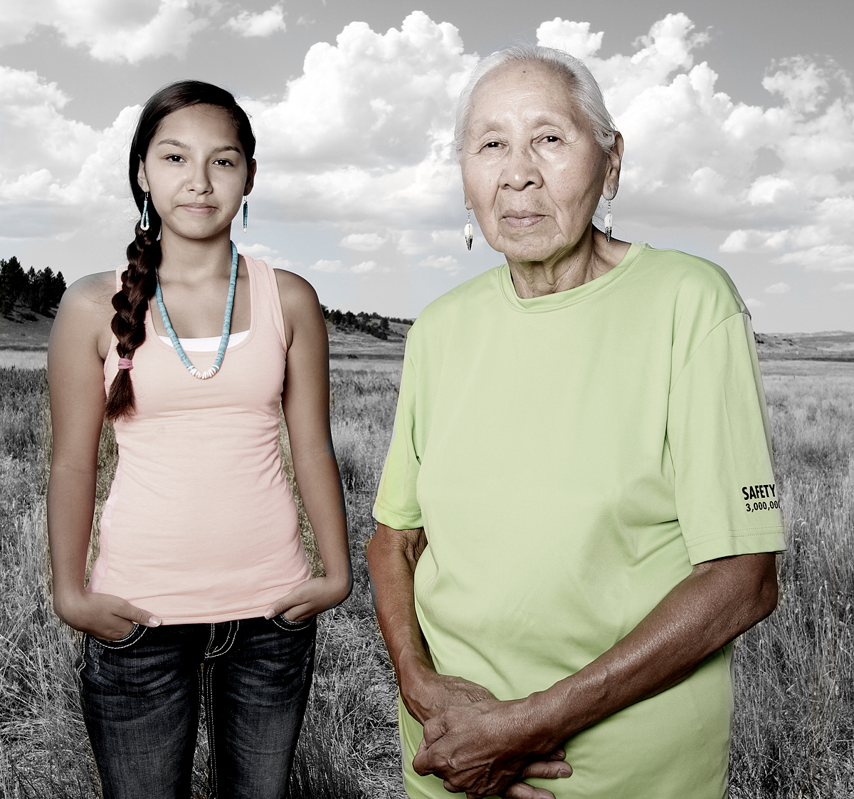 Native American travels across U.S. photographing citizens of tribal nations