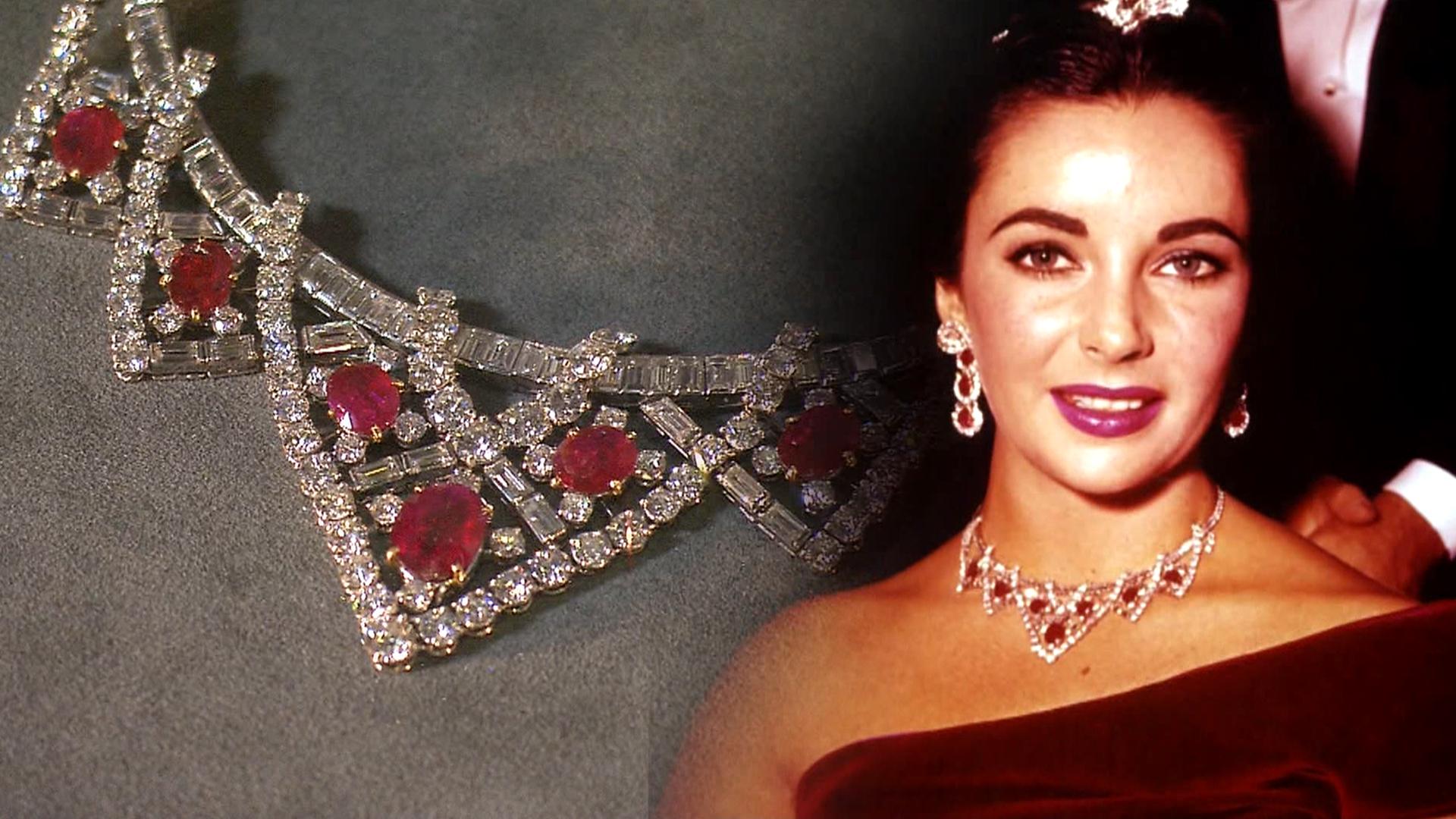 Duchess Kate S Wedding Tiara Liz S Ruby Necklace On