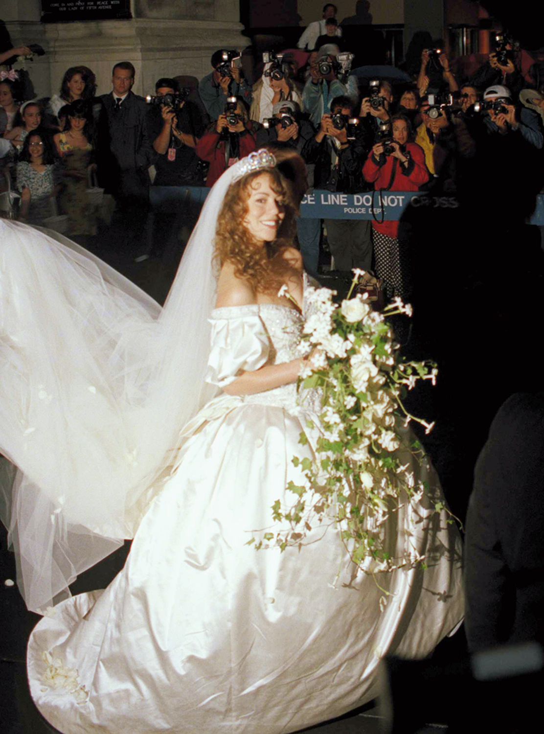 Here comes the bride! Famous wedding gowns