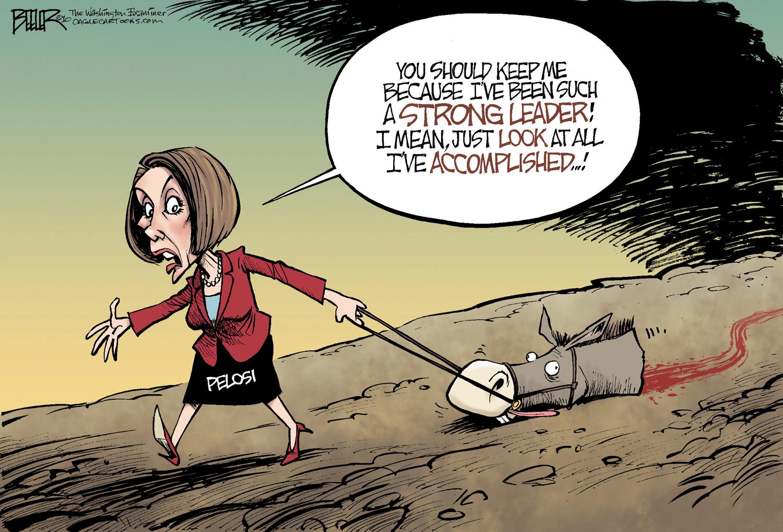 Image result for Pelosi cartoons