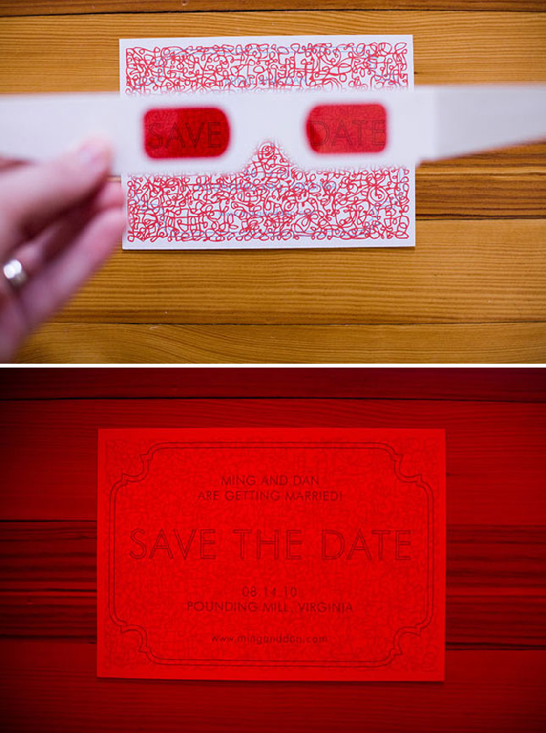 20 cool wedding invitations