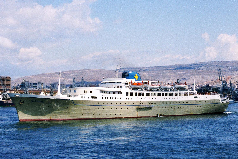 The Sinking Of Oceanos - Sinking cruise ship oceanos