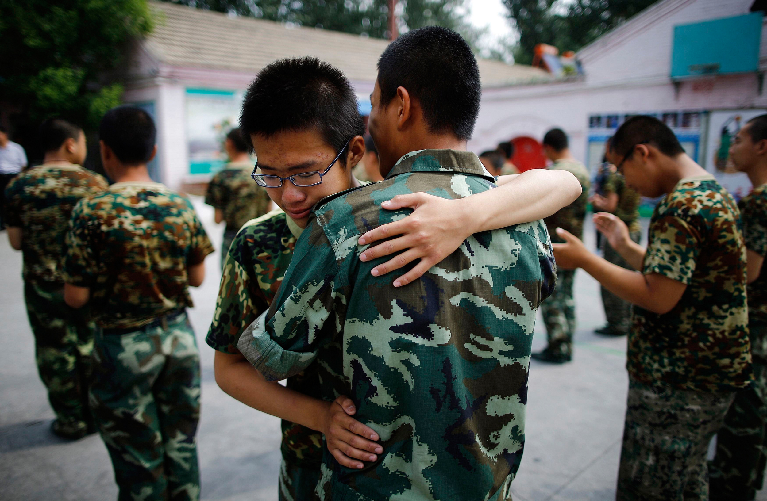 Can Boot Camp Cure China's Young Internet Addicts? - NBC News