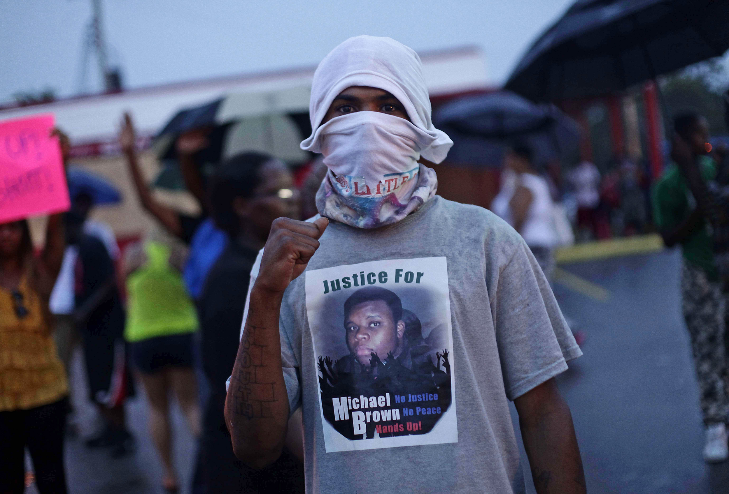 Anger Reignited Clashes Resume in Ferguson NBC News