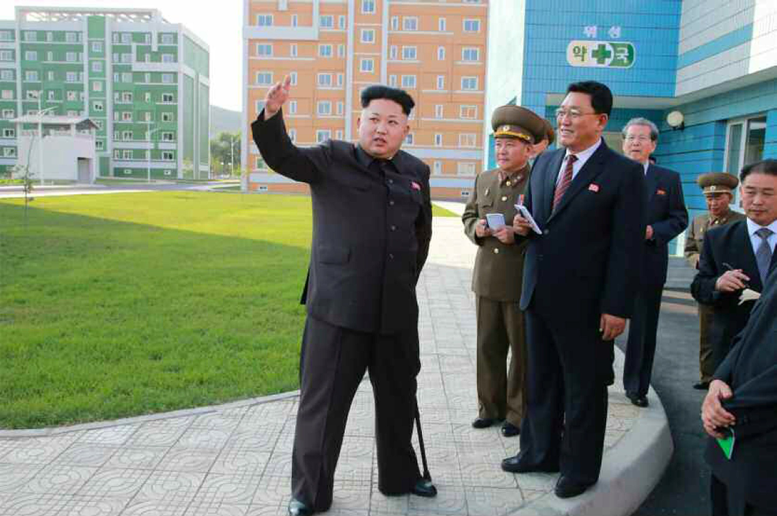 Kim Jong-Un appears publicly, but needs a cane after ankle surgery