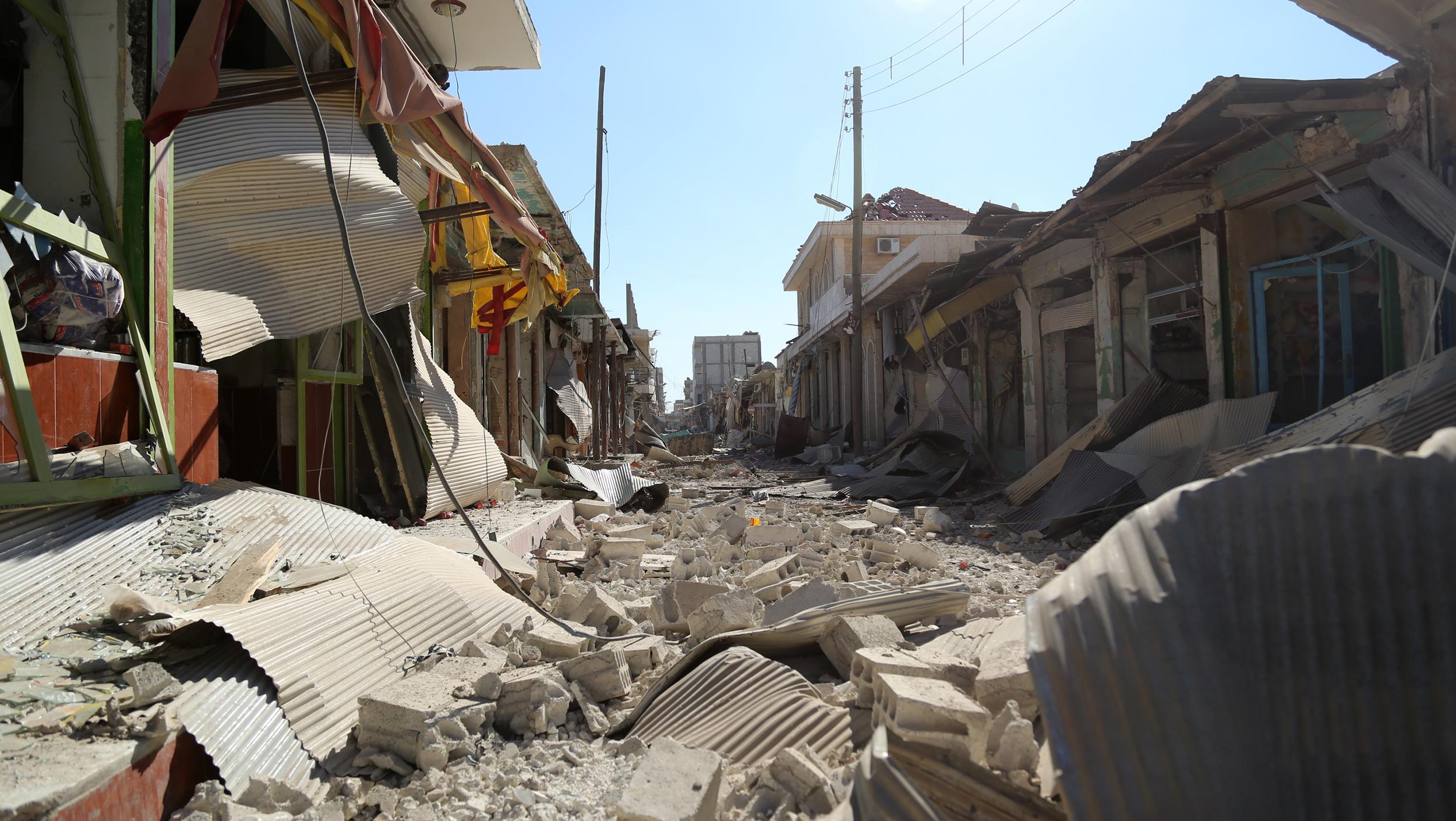 Inside kobani kurds defend ghost town besieged by isis nbc news