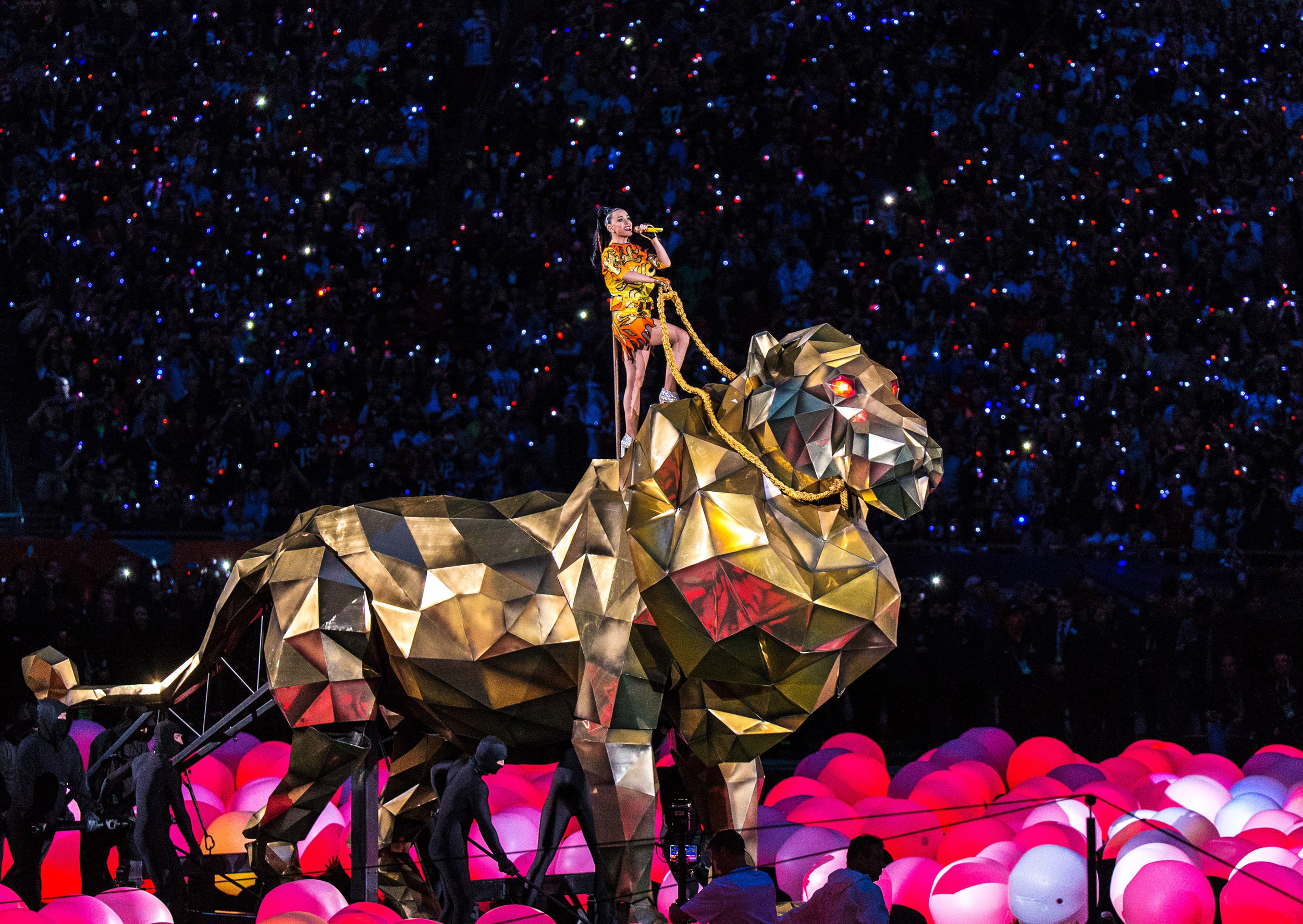 Katy perry takes the reins on super bowl halftime show nbc news