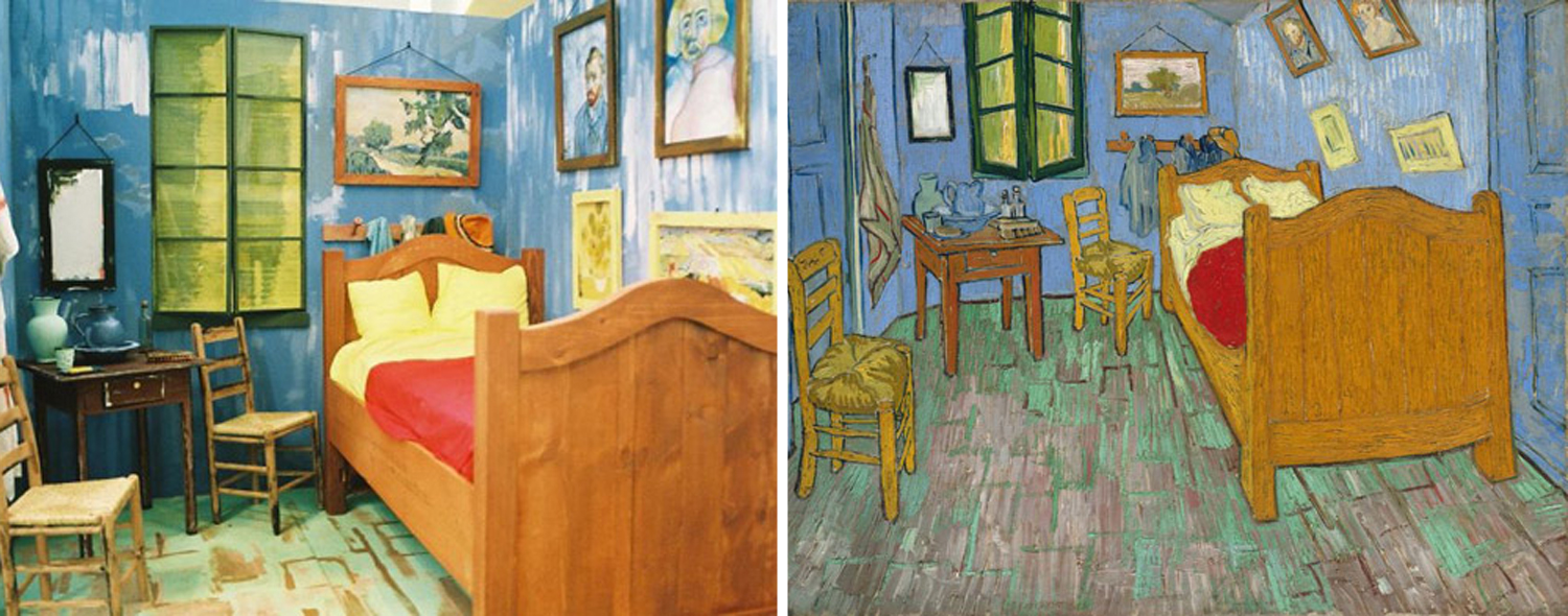 Van Gogh Bedroom In Arles Remake Photo Project Breathes Fresh Life Into  Classic Works Of Art. Bedroom At Arles  Bedroom Airbnb Art Van Gogh Exhibition In Arles