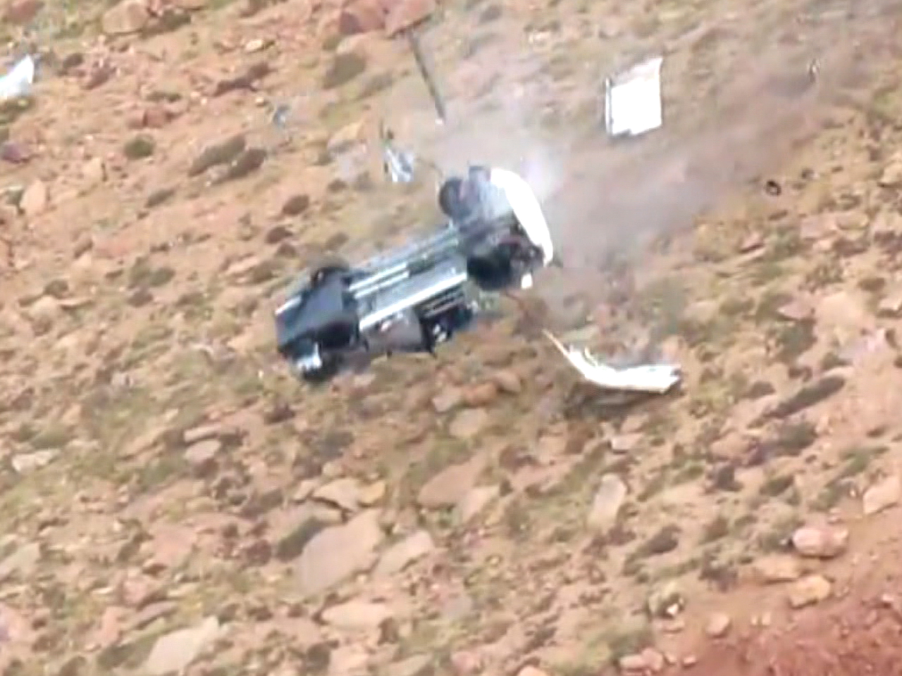 Pikes Peak crash survivor: I thought, 'this is it'