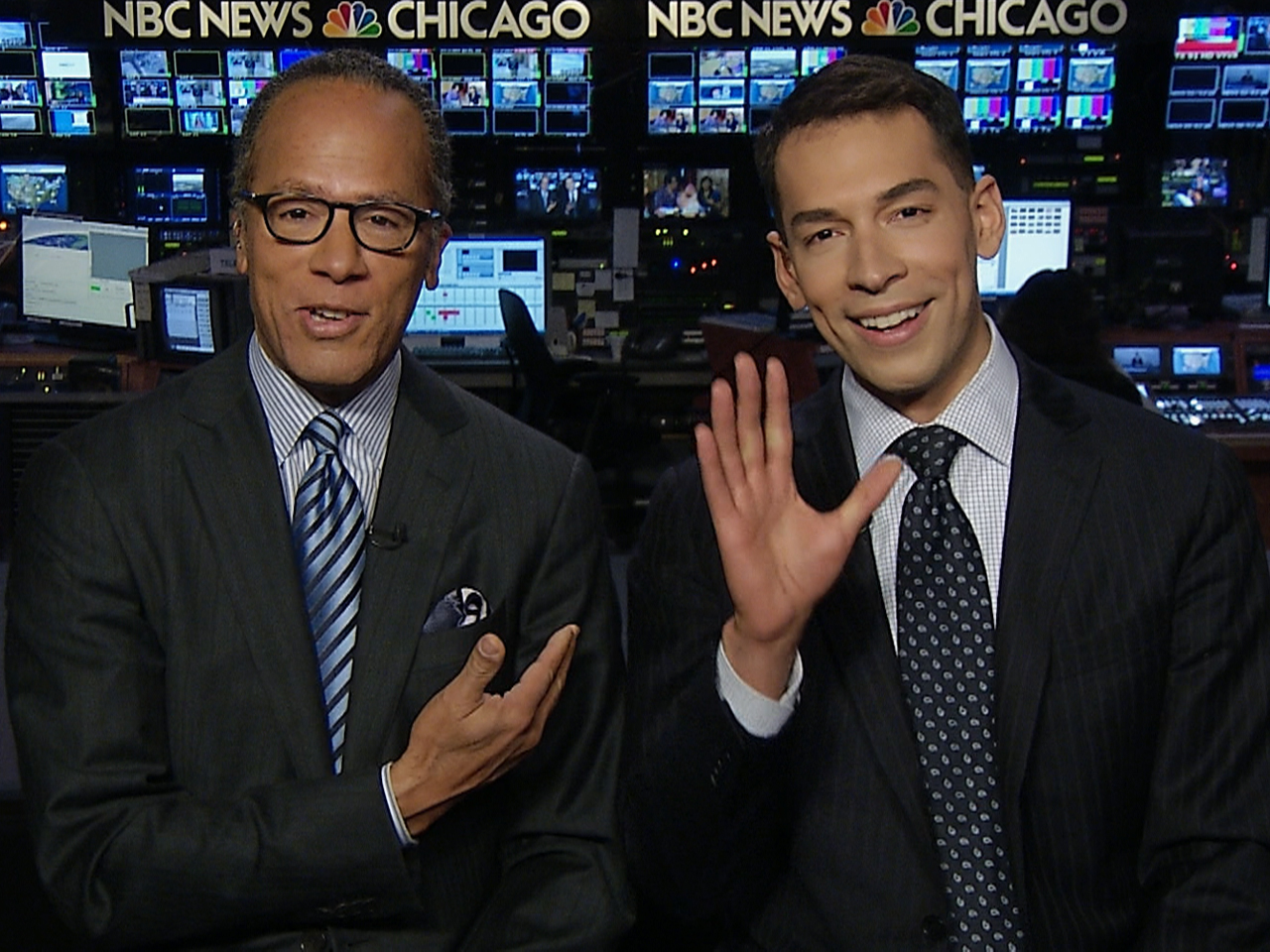 Lester Holt And Son Team Up To Anchor In Chicago