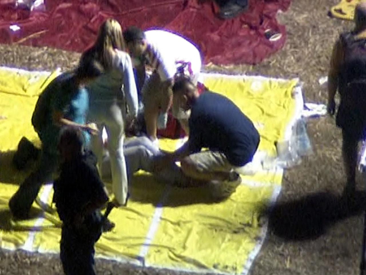 28 injured as fireworks detonate into crowd