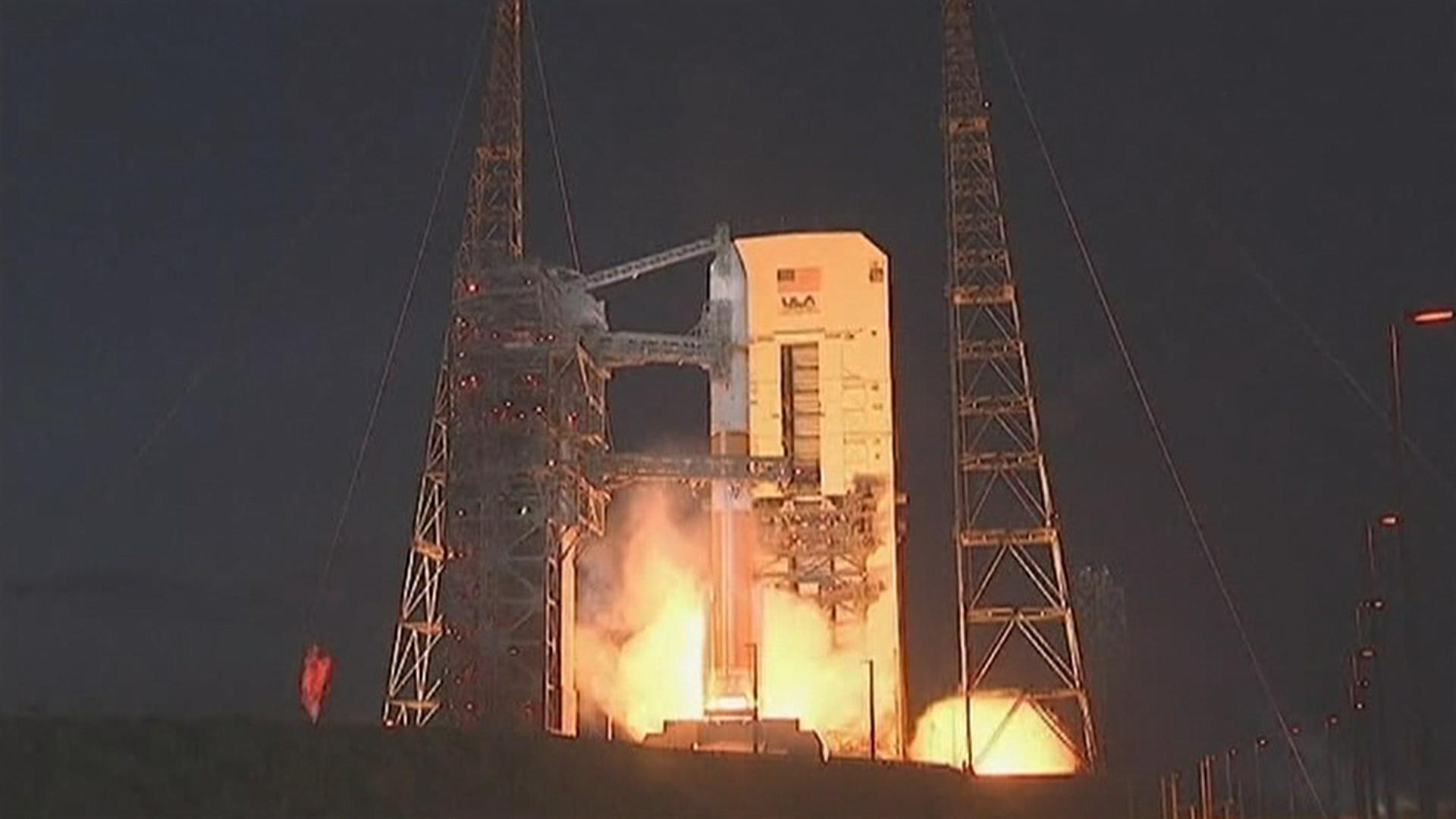 Delta 4 rocket launch Aug. 7, 2013