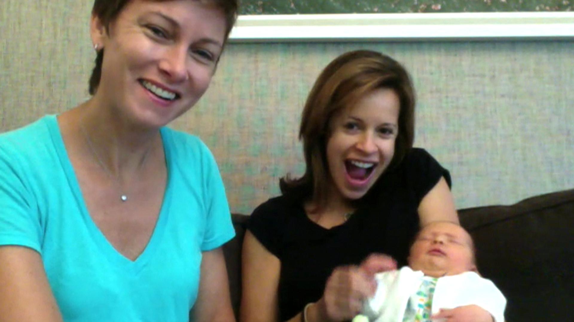 Meet Jenna Wolfe And Stephanie Gosk S Baby Harper