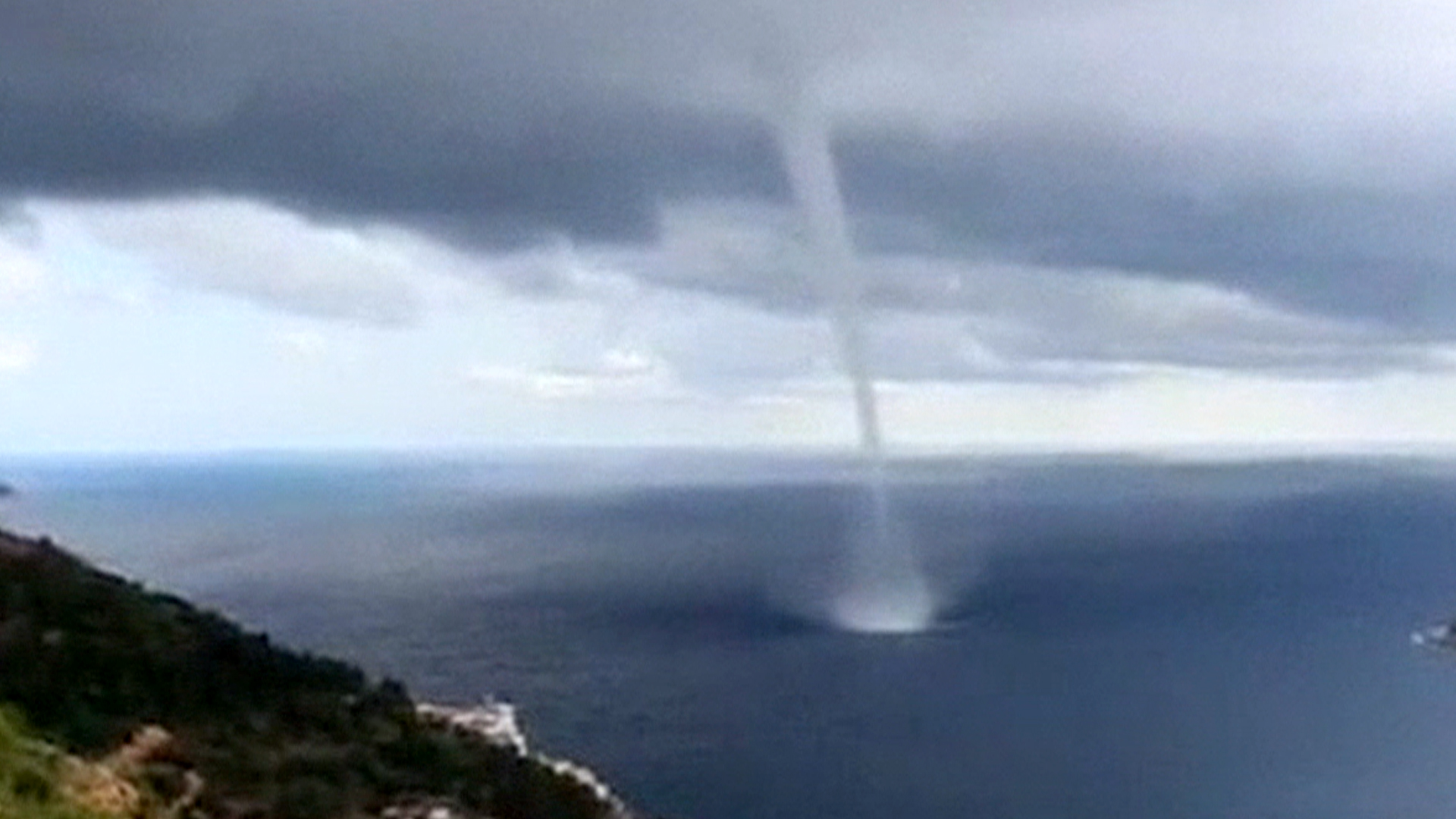 raw waterspout reported in croatia
