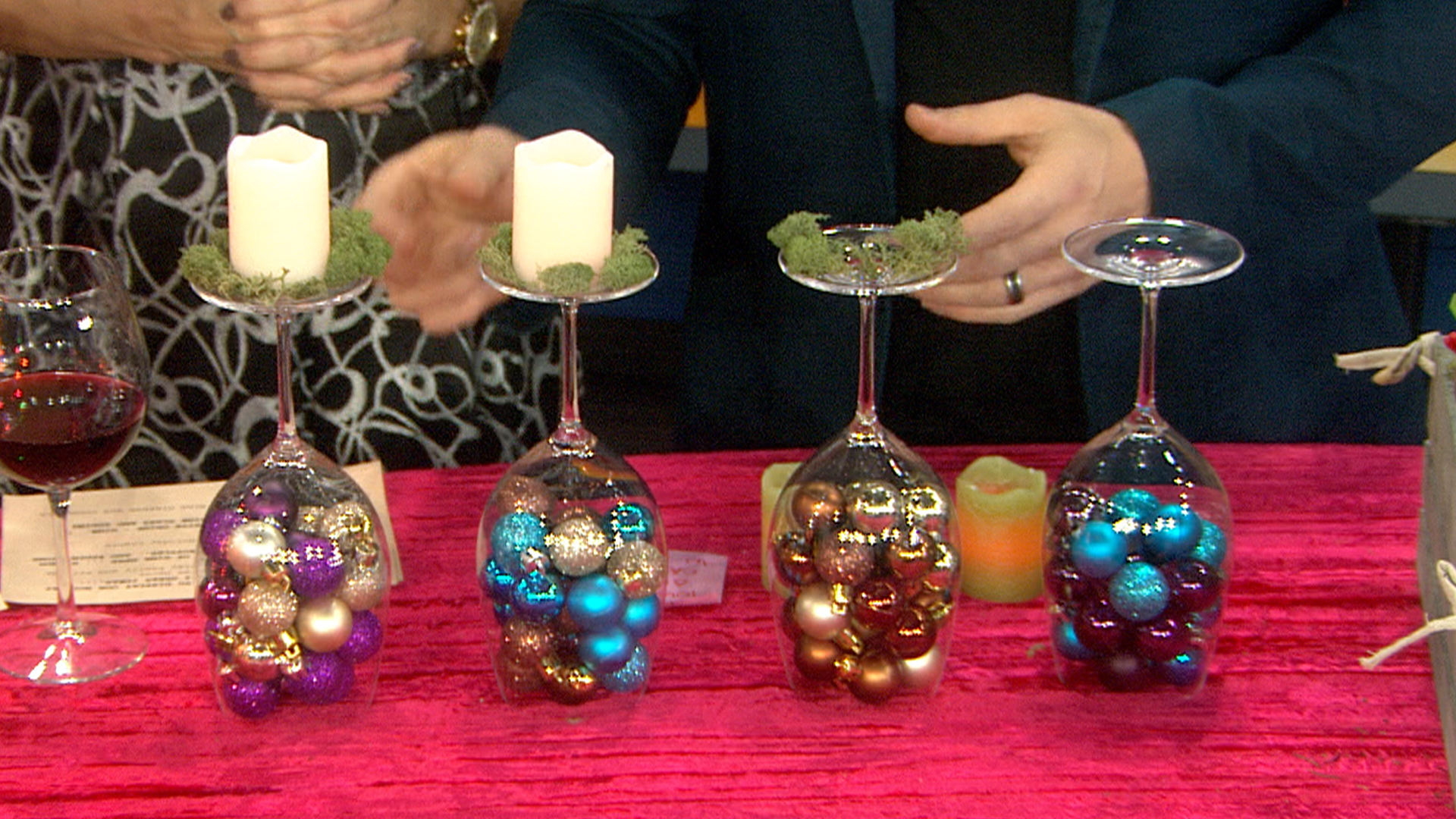 Diy your holiday celebration with wine bottles for Decoration ideas