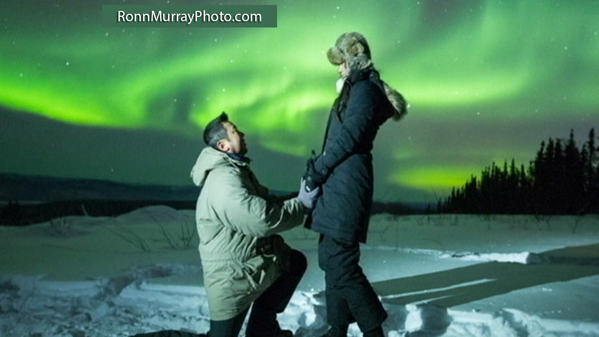 Is Northern Lights Proposal Most Romantic Ever Today Com