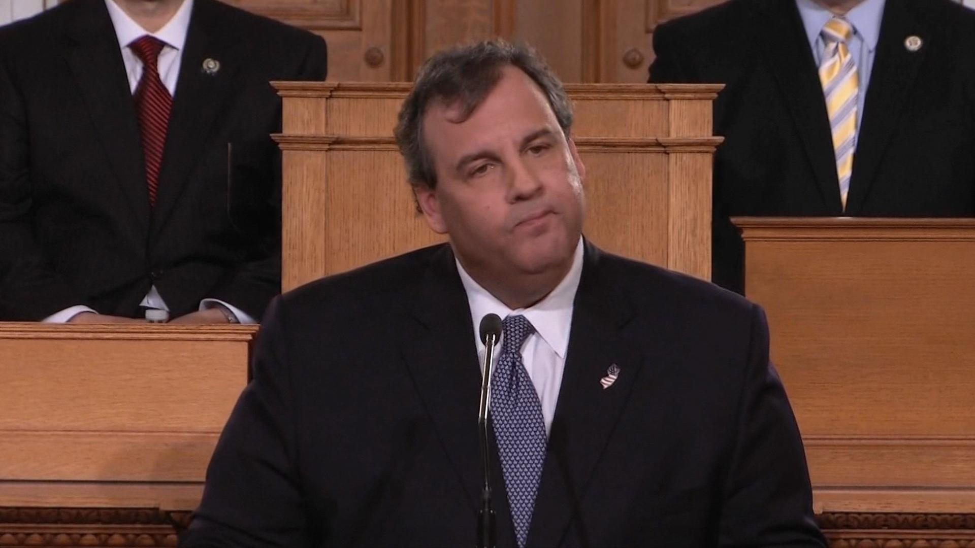 Reading into Christie's speech