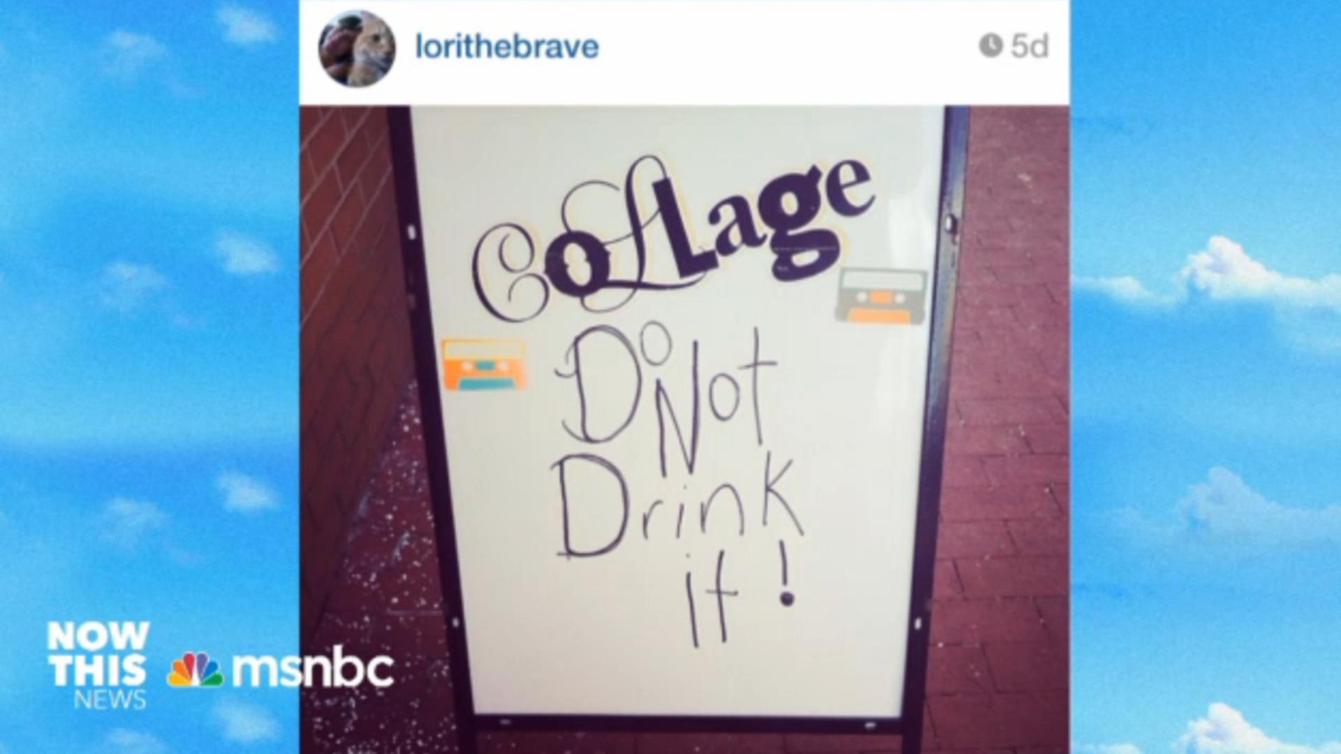 Instagram pics of West Virginia water crisis