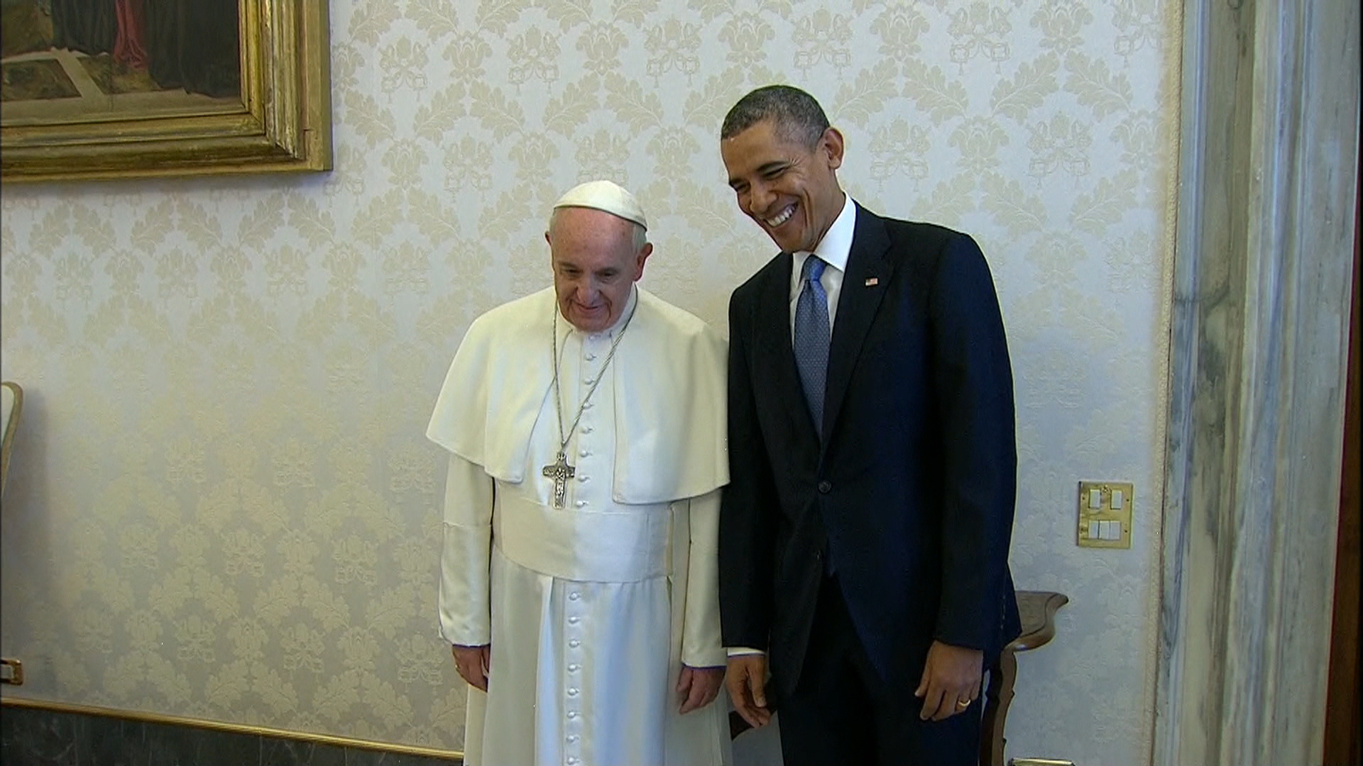 Pope and president, both progressives
