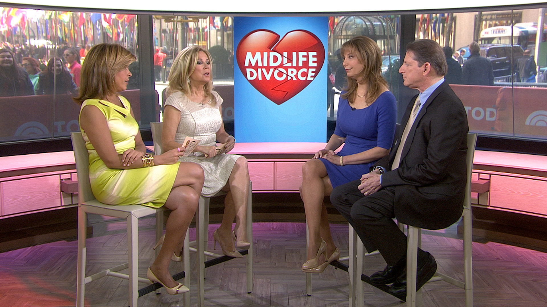 More couples split in midlife with no regrets