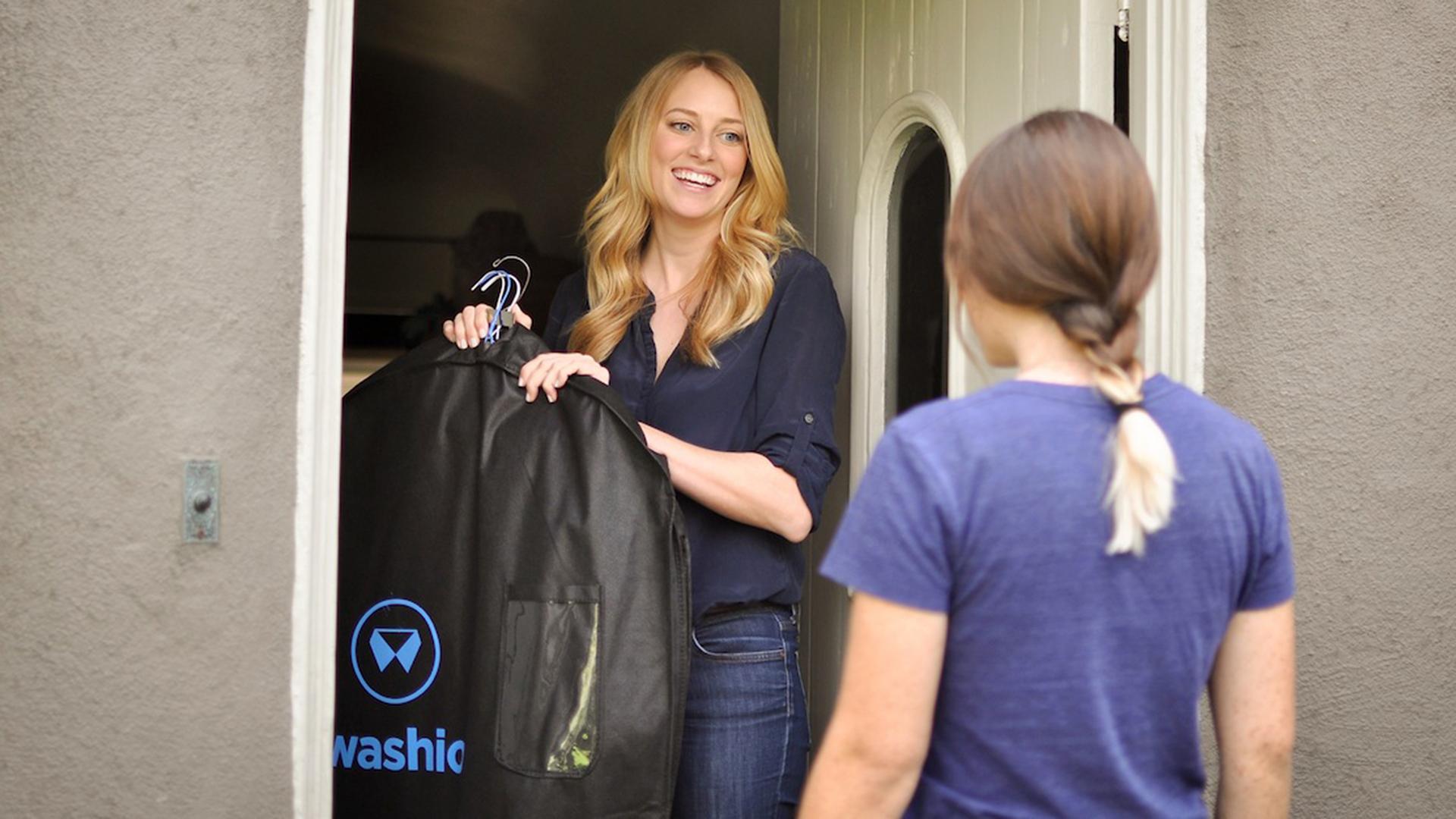 Washio, The On-Demand Laundry