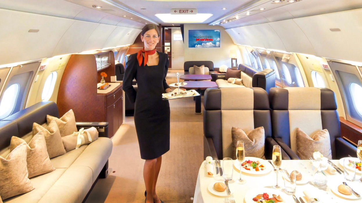 Go Inside The Jets Of The SuperRich  NBC News