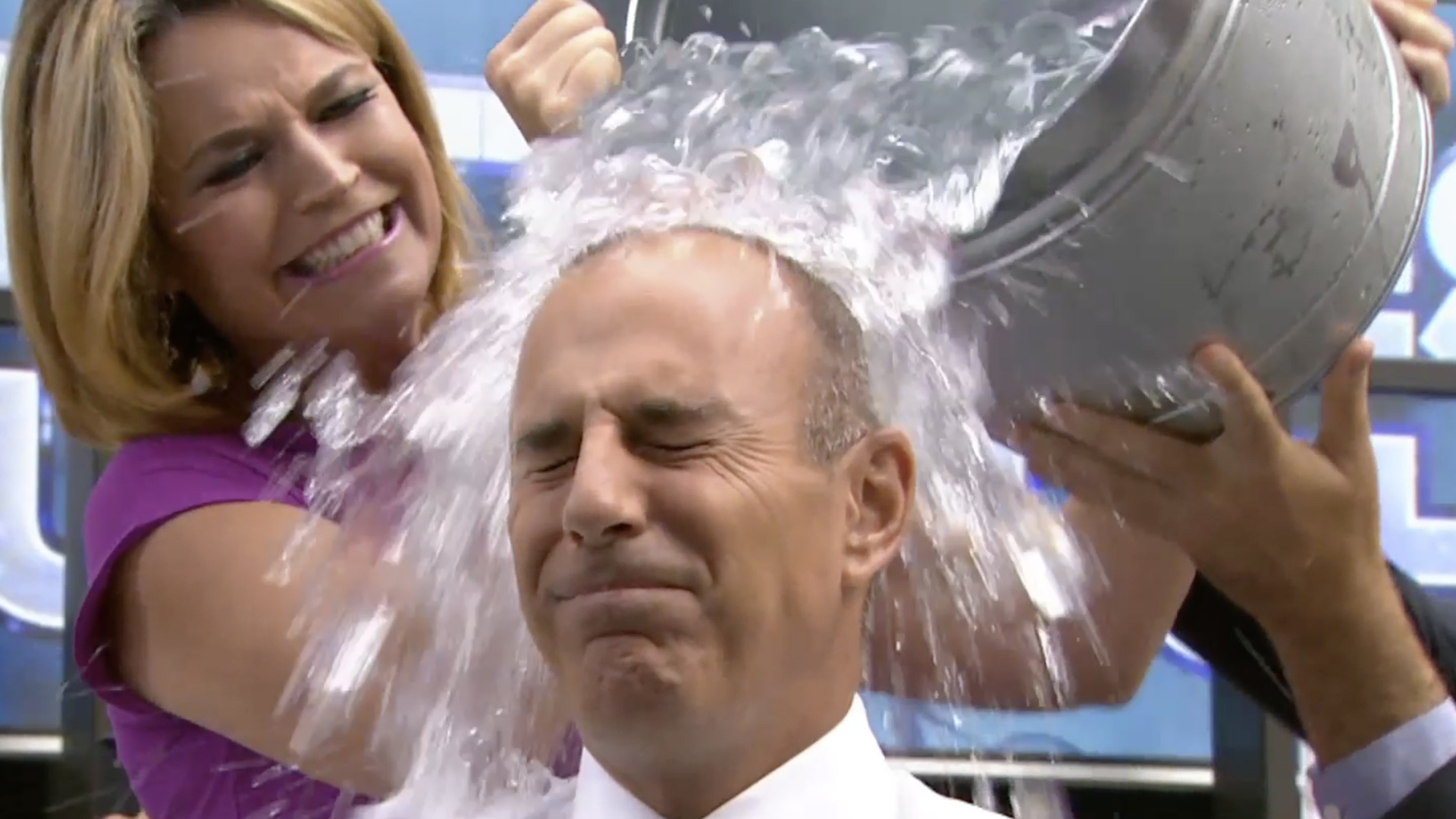 President Bush Accepts Jenna Bush Hager S Ice Bucket Challenge