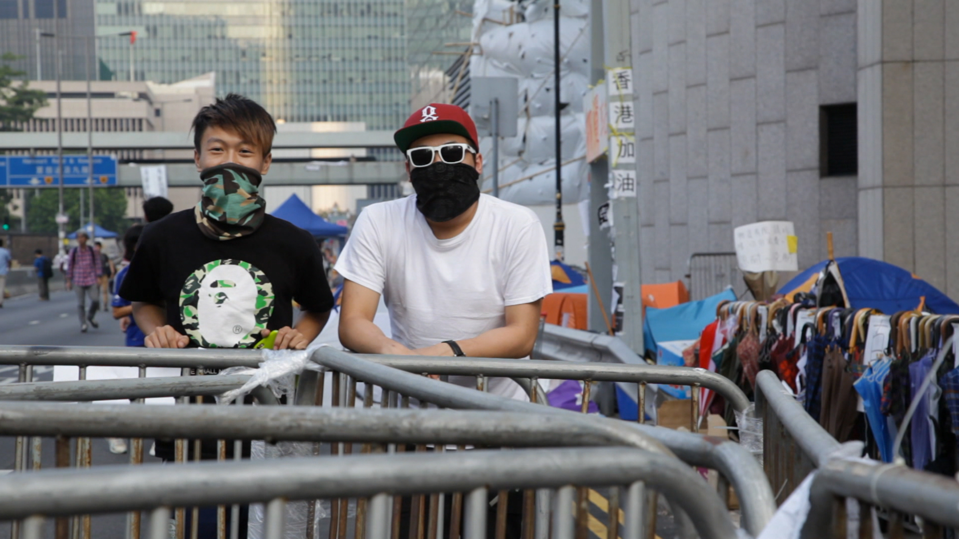 The last of the Hong Kong protesters