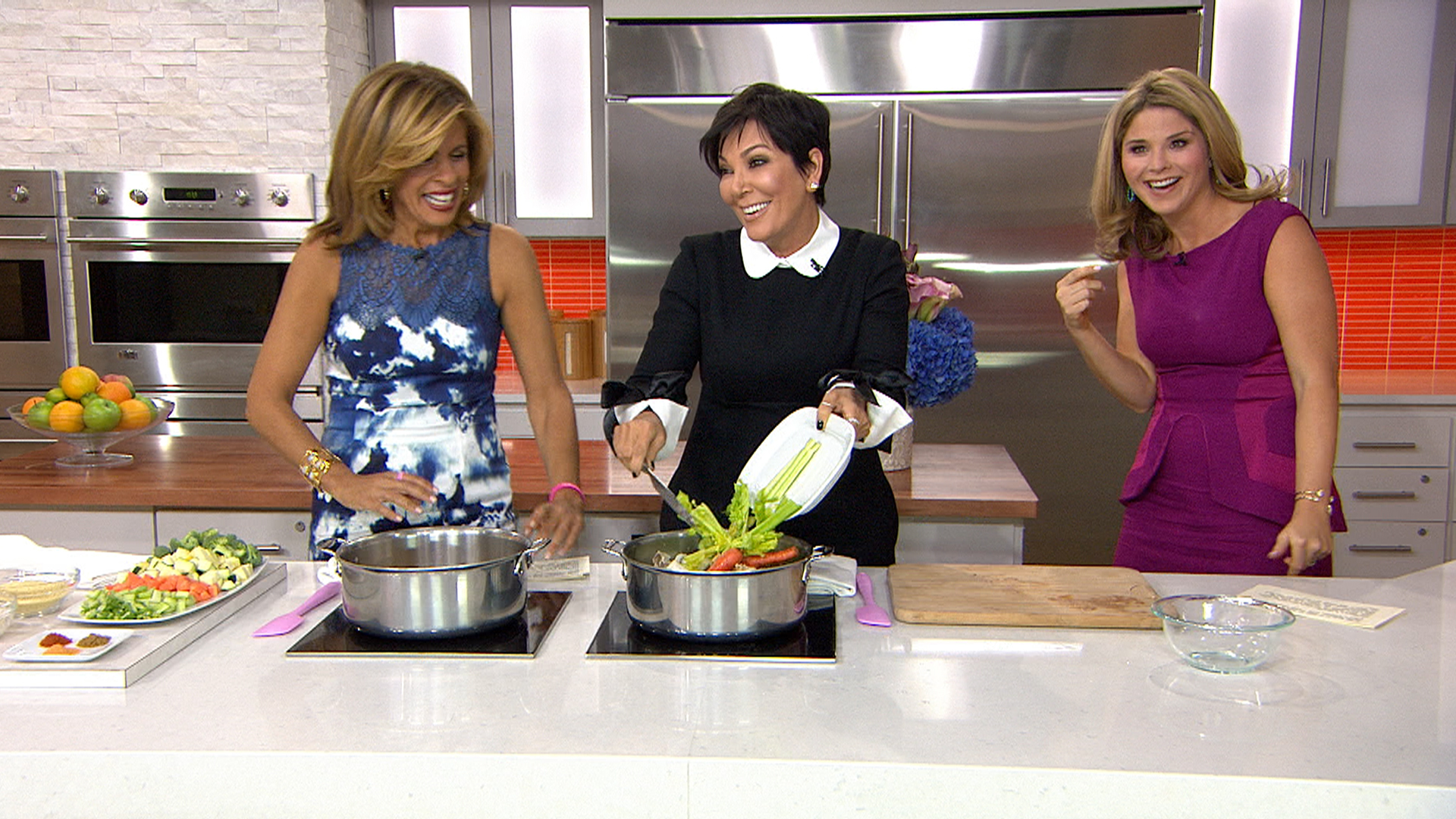 kris jenner cooks up family favorite chicken soup - today