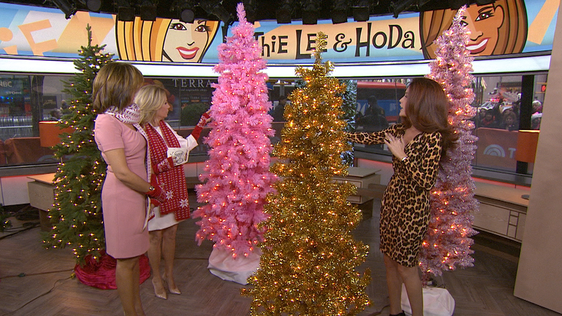 Christmas decorations: Artificial Christmas trees that are on sale