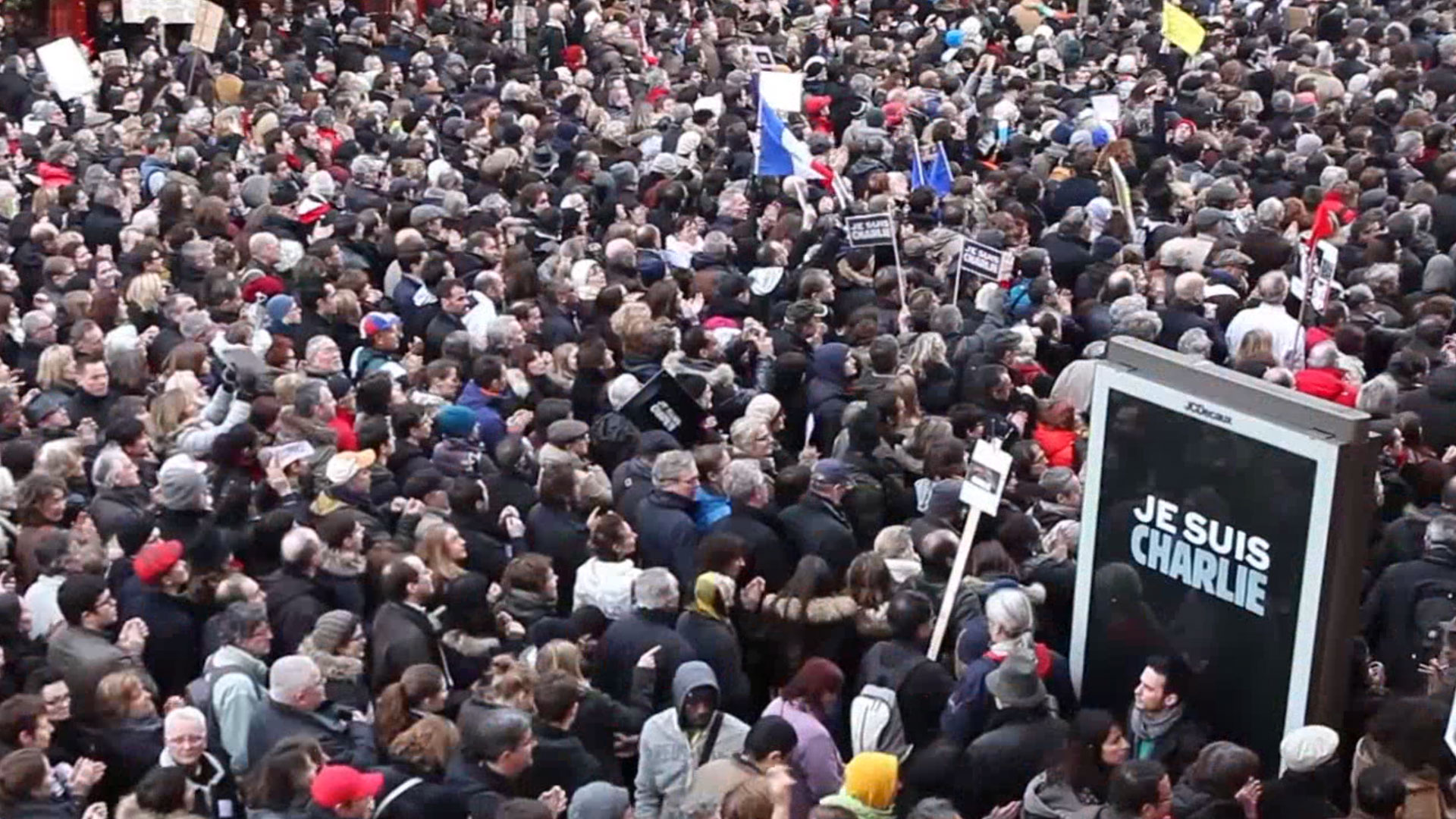Thousands rally for unity in France