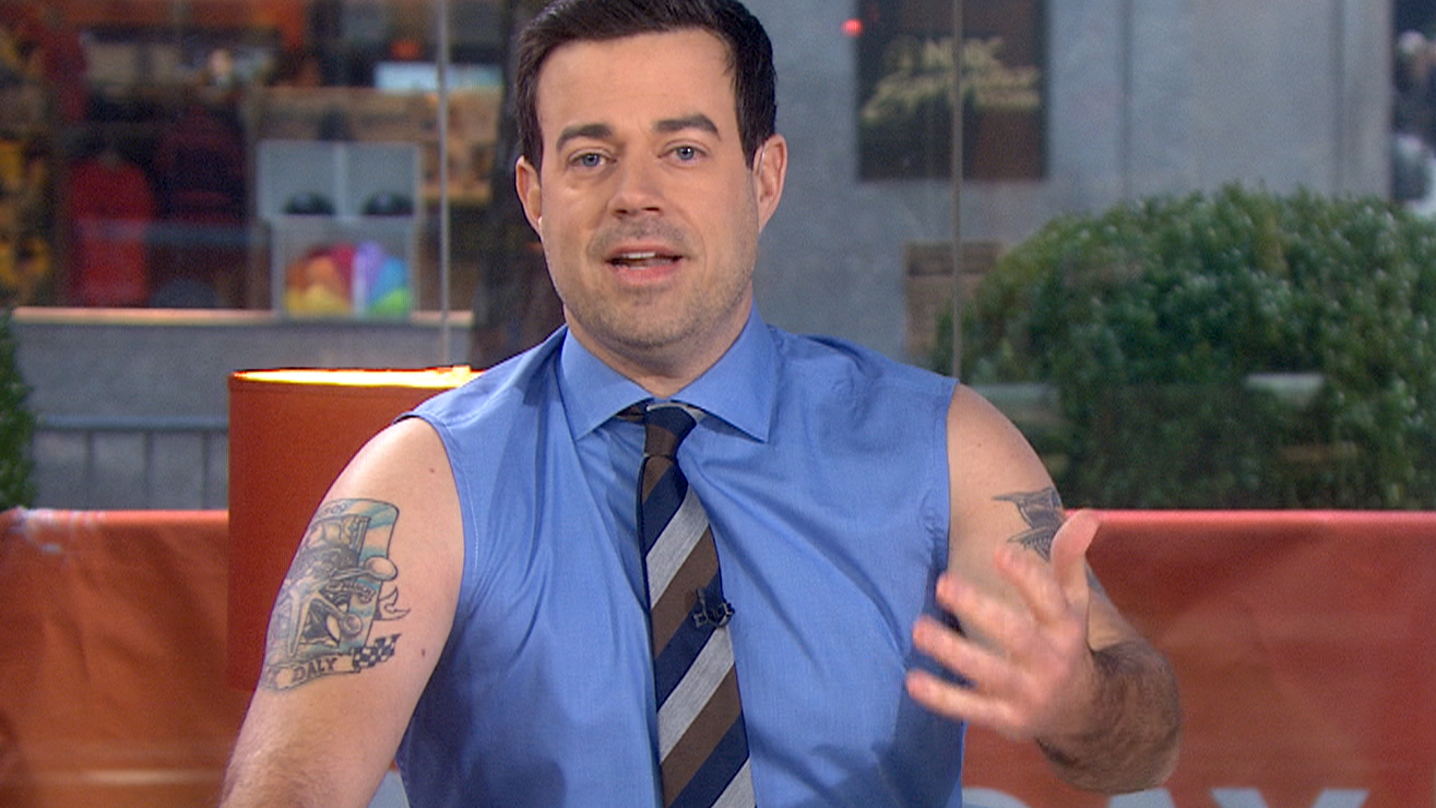 Carson Daly No Shirt carson daly weighs in on sleeveless dresses ...