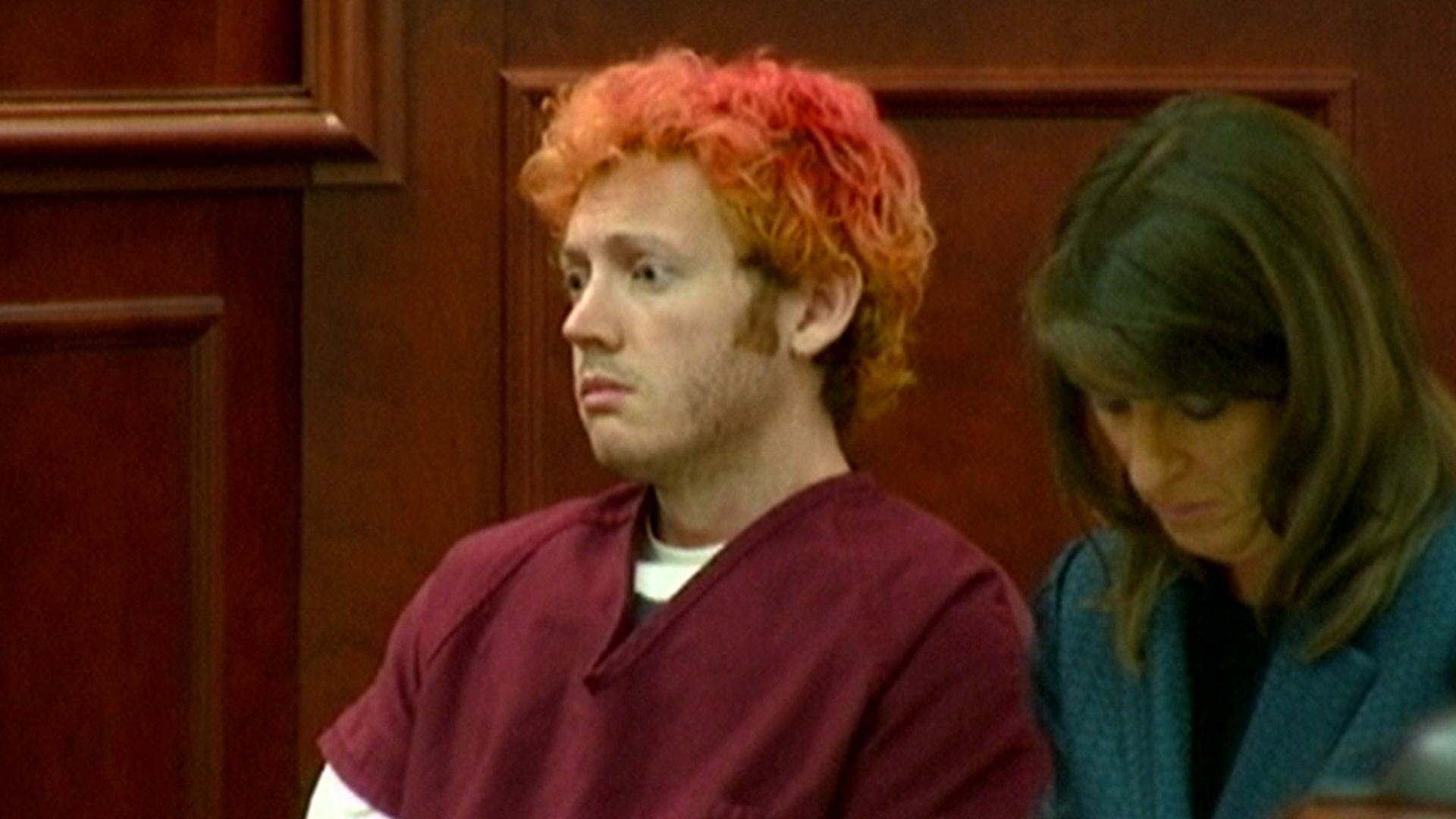 james holmes A colorado jury decided that james holmes shouldn't receive the death penalty and will serve life in prison without parole for killing 12 people and injuring 70 during a mass shooting at an.