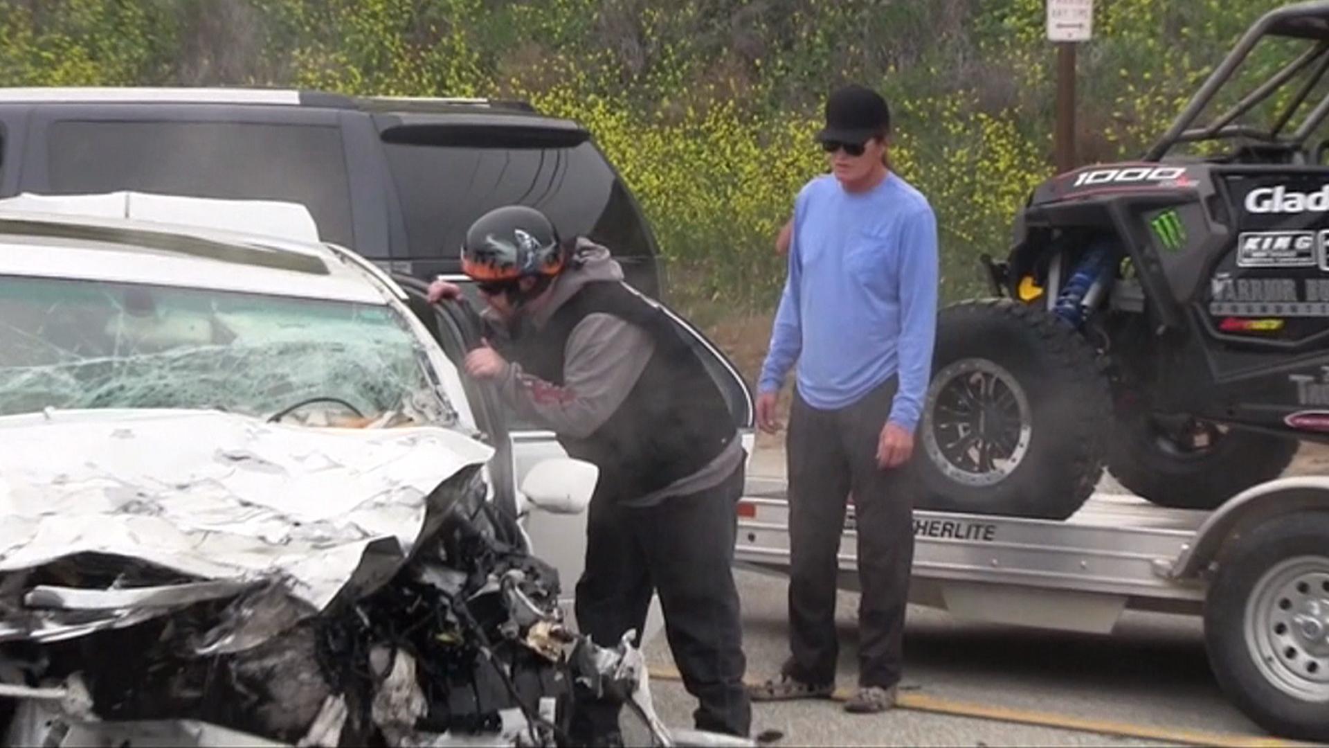 Malibu Car Accident Yesterday
