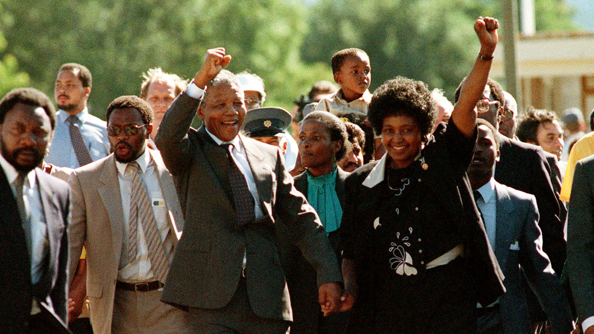 Flashback Nelson Mandela Released From Prison Nbc News