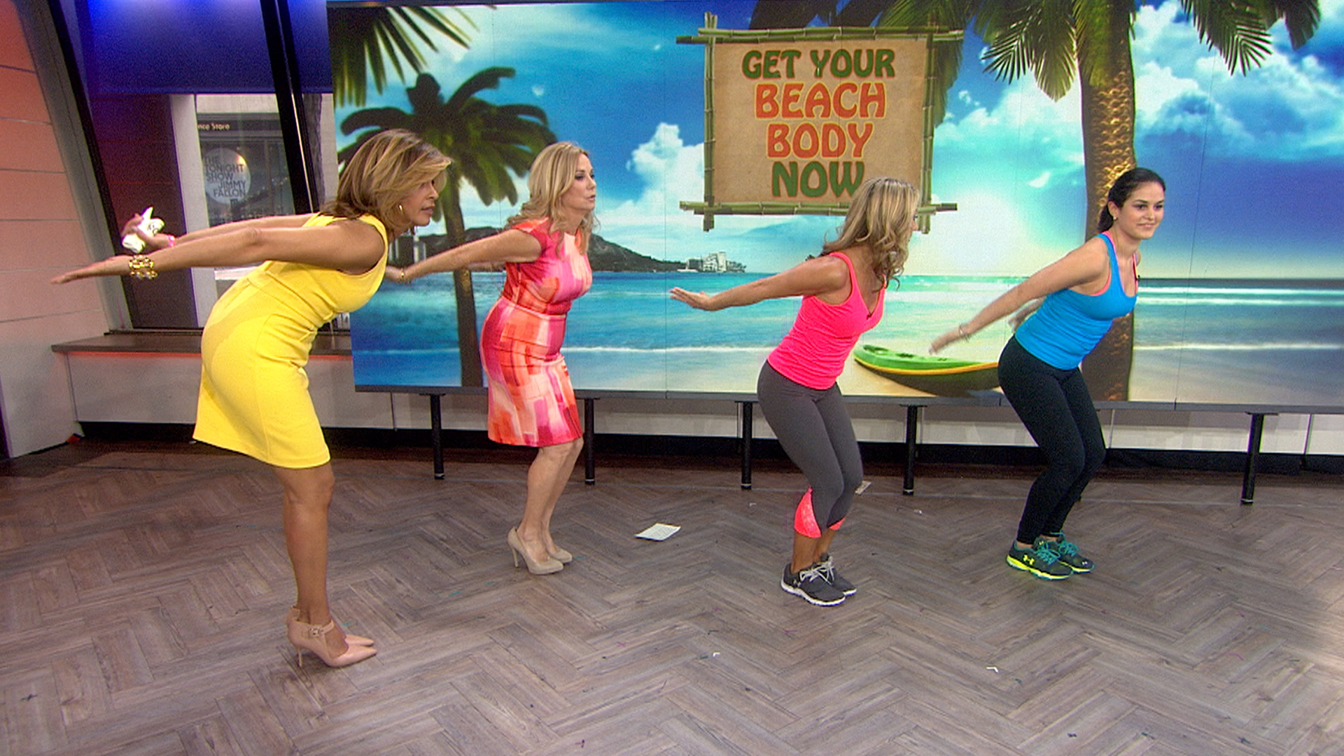 4 Workout Moves To Tone Waist Arms Abs Booty