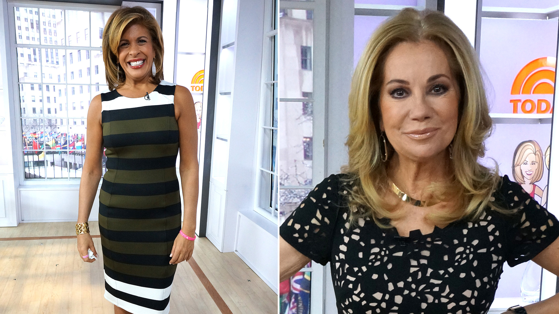 KLG's necklace, Hoda's dress are affordable
