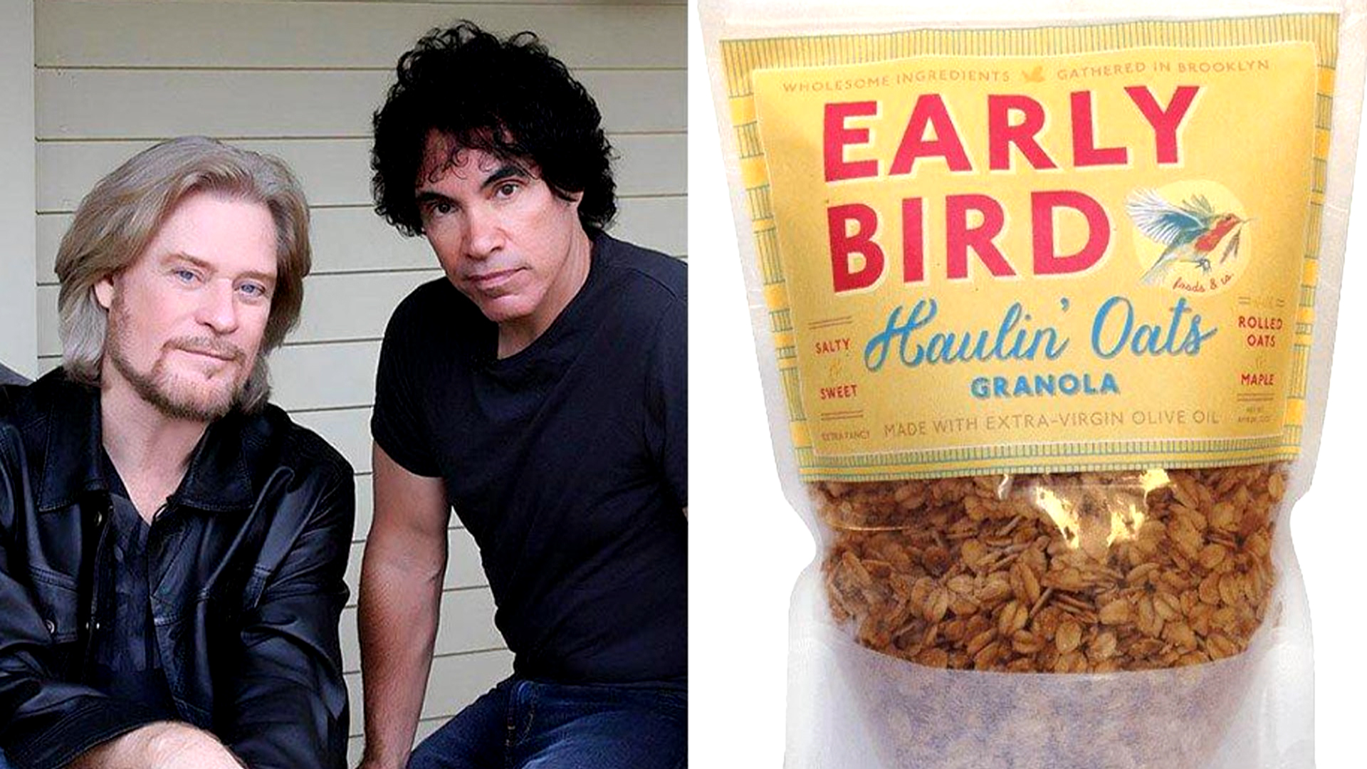 Hall Oates Are Suing Haulin Oats Over The Name Todaycom