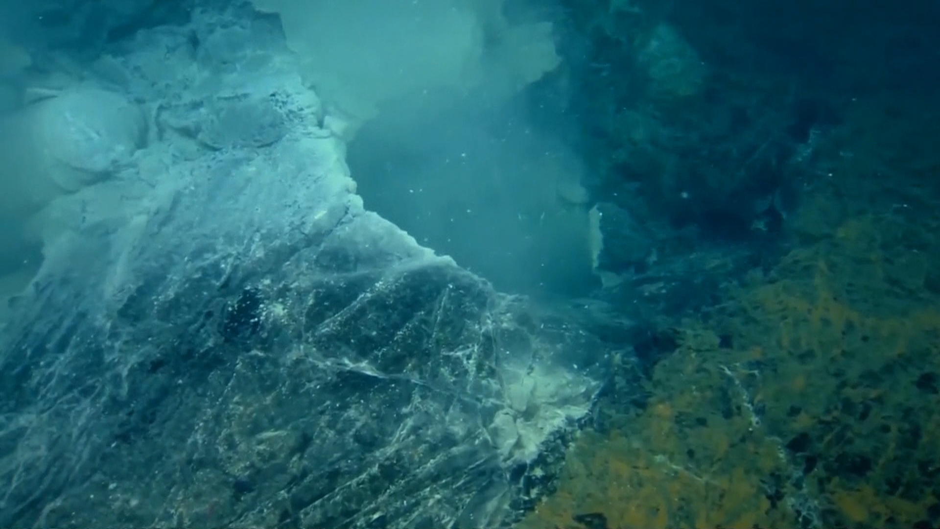 There She Blows Underwater Volcano May Be Erupting Off