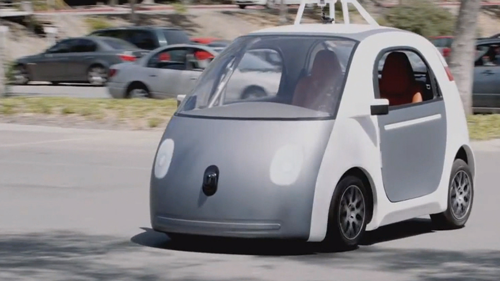 Google's Brin Defends Accident Records of Self-Driving Cars