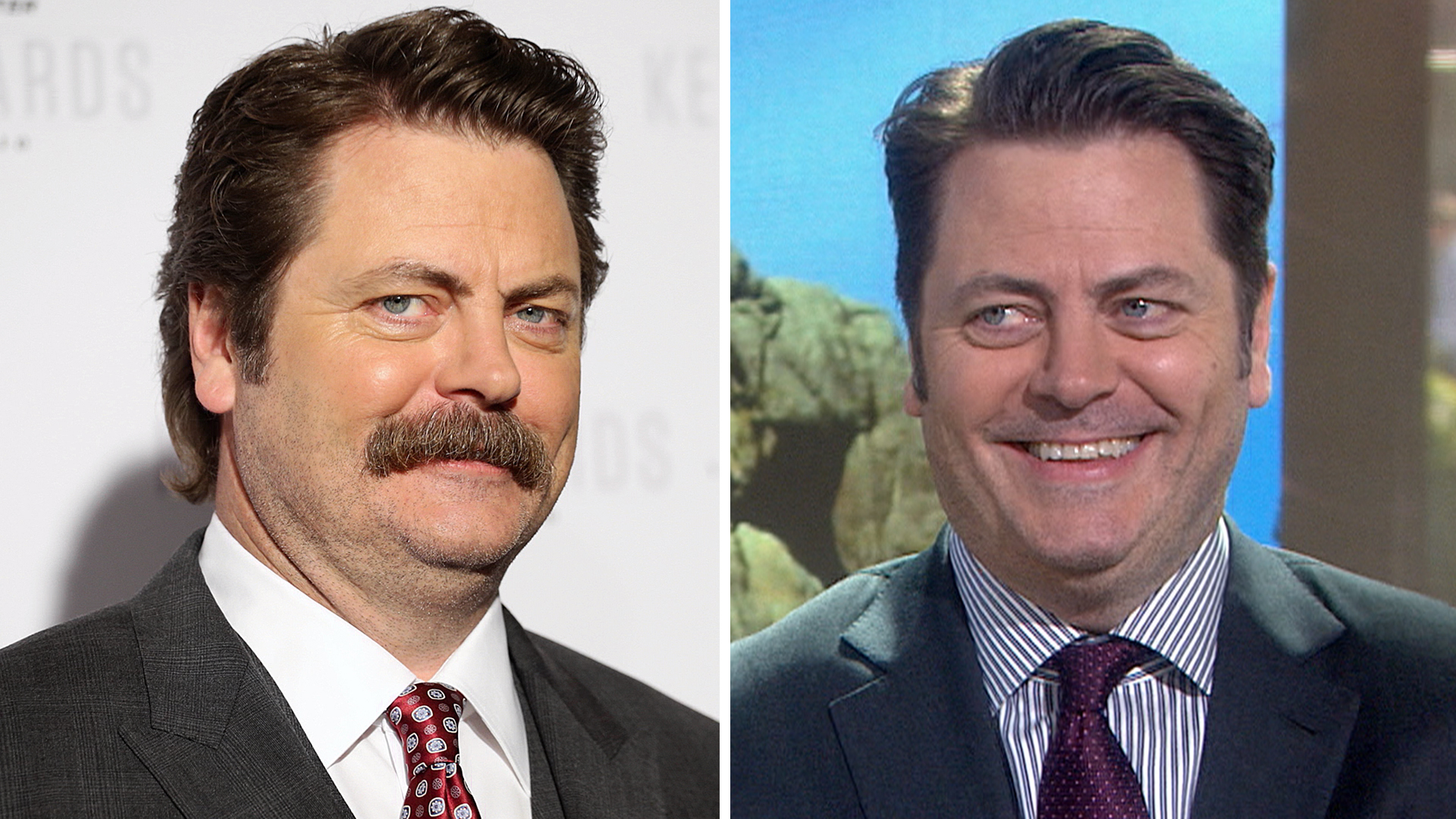 Nick Offerman: My mustache is only a tool - TODAY com