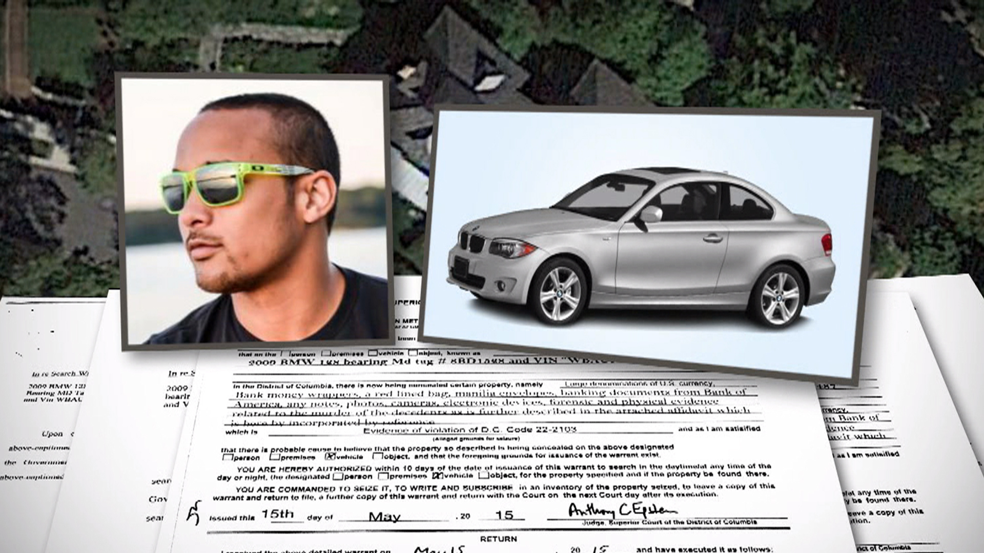 Search Cars: Police Search Car Of DC Murder Victim's Assistant